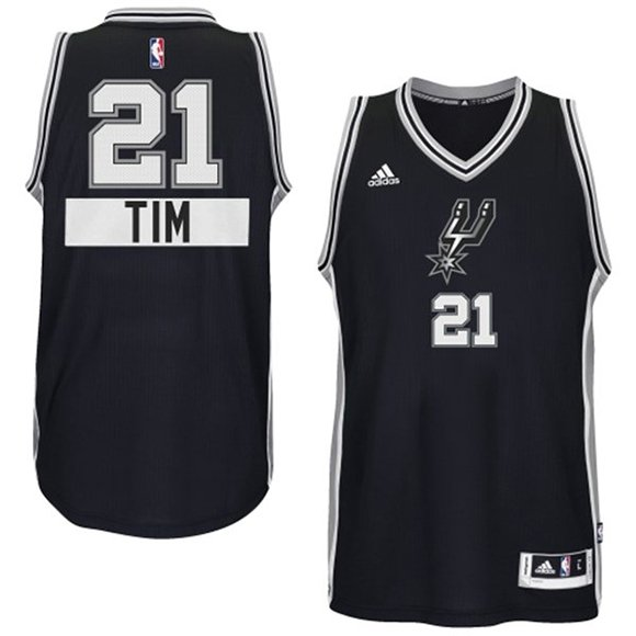 Tim Duncan 2014 NBA adidas Christmas Day Jersey