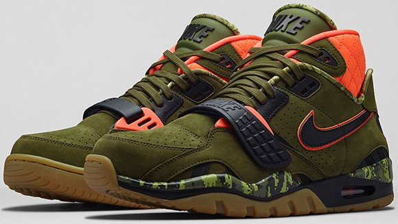 Weekend Release Nike Air Trainer SC II Faded Olive