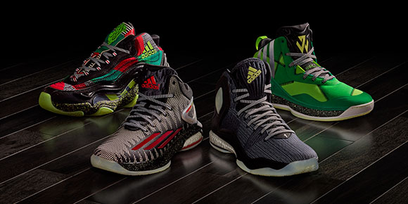 adidas Bad Dreams Collection for NBA Christmas Day Games‏