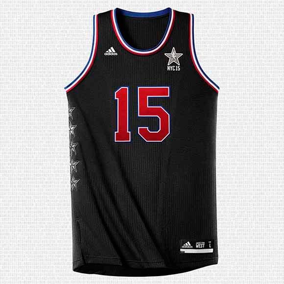 adidas NBA 2015 All-Star Game Jerseys