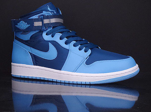 hot sale online a4295 0e3cb Air Jordan 1 High Strap 2015 French Blue White University Blue