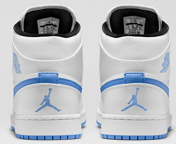 Air Jordan 1 Mid White Legend Blue Available NikeStore