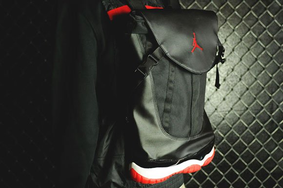 446dd56795b Air Jordan 11 Bred Backpack Back Again | SneakerFiles