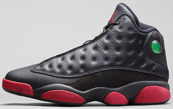 Air Jordan 13 Black Gym Red Official Images