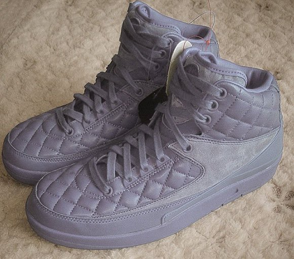 Air Jordan 2 Quilted Leather Cool Grey