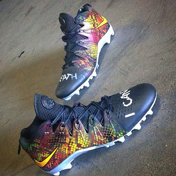 DeSean Jackson I Cant Breathe Nike Custom Cleats