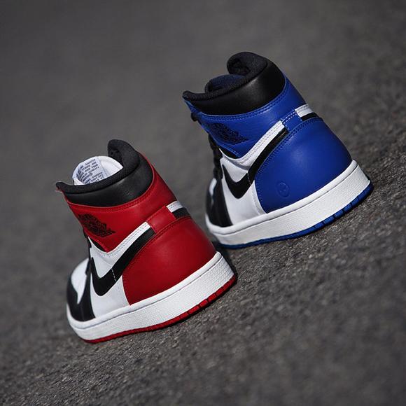 fragment vs. Black Toe Air Jordan 1 Retro High OG  03e3c4caa8d9