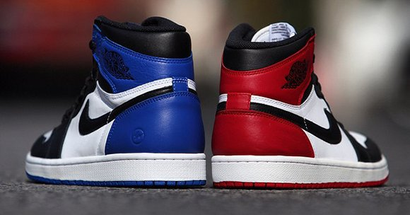 Fragment Vs Black Toe Air Jordan 1 Retro High Og Sneakerfiles