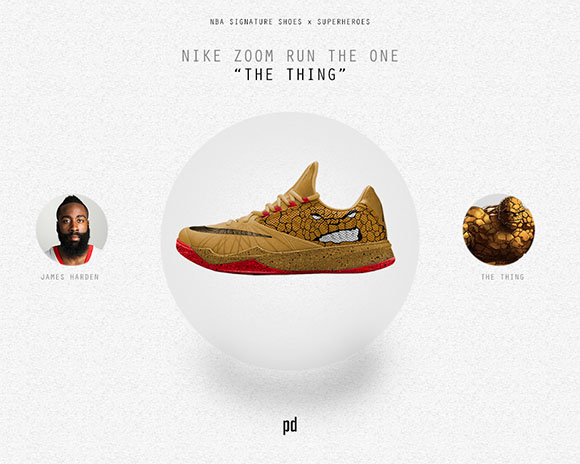 James Harden: Nike Zoom Run The One x The Thing