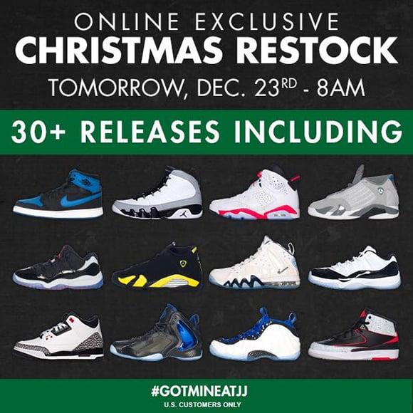 Jimmy Jazz Air Jordan Nike Restock Tomorrow