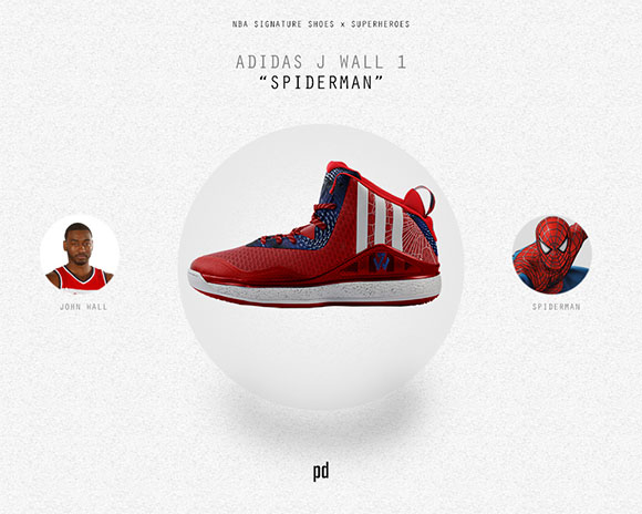 John Wall: adidas J Wall 1 x Spiderman