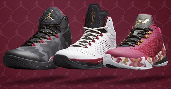 Jordan Brand Officially Unveils 2014 Christmas Kicks