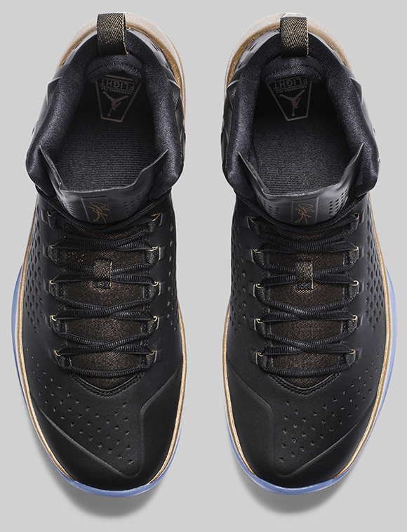 Jordan Melo M11 Black Gold