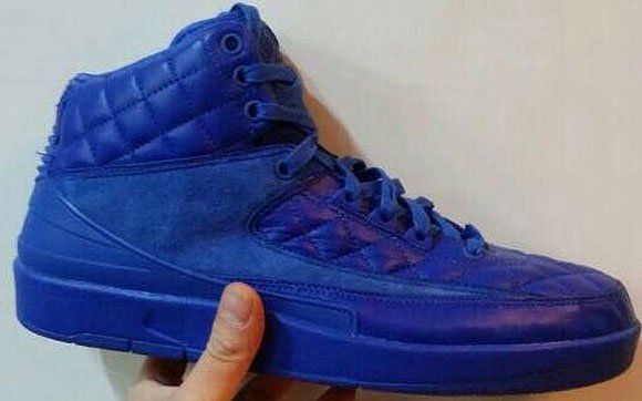 Just Don x Air Jordan 2  Quilted Leather  2015  46678df2cc