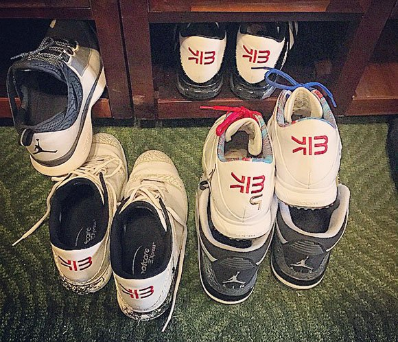 Keegan Bradley Shows more Exclusive Air Jordan Golf Shoes