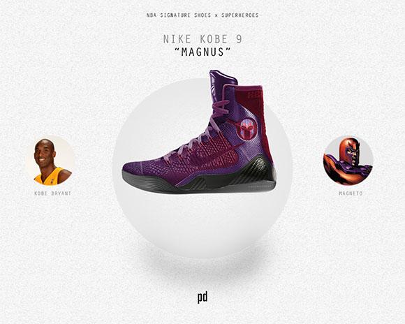 Kobe Bryant: Nike Kobe 9 x Magnus