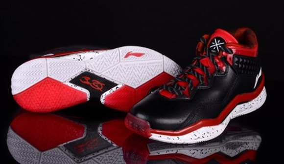 Li-Ning Way of Wade 3.0 Black Red Now Available