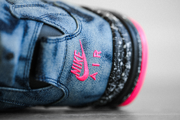 Nike Air Command Force Bleached Denim Detailed Look