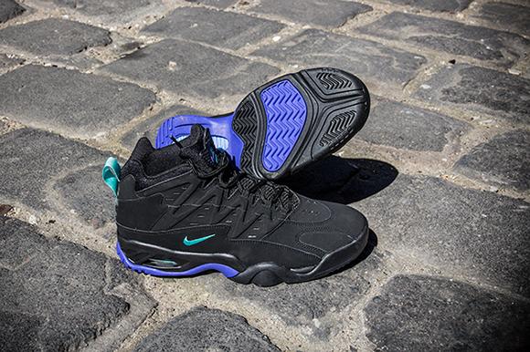 Nike Air Flare Retro Black Persian Violet
