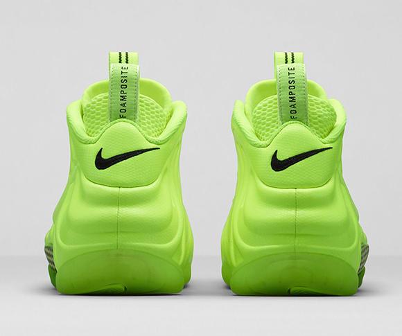 Nike Air Foamposite Pro Volt Official Images