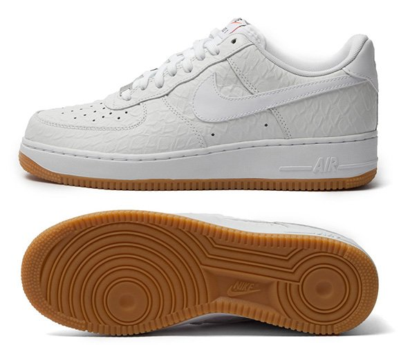 Nike Air Force 1 Low Croc and Gum Pack