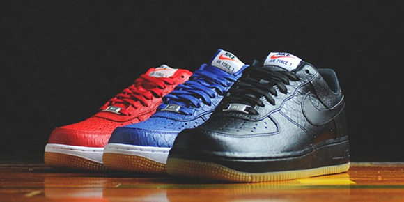 official photos 56eed 8ecff Nike Air Force 1 Low Gum and Croc Pack