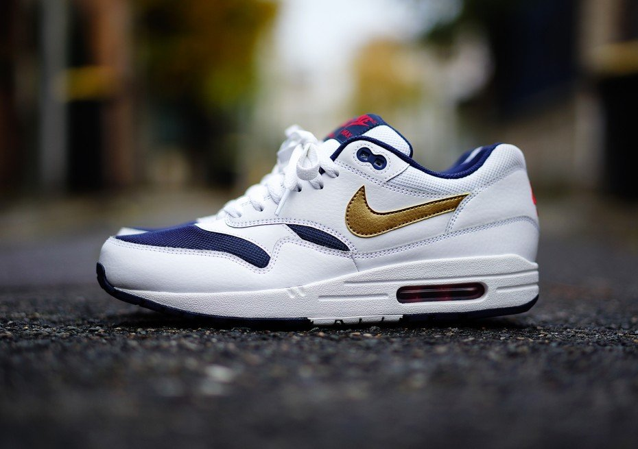 timeless design bc9cf f1242 Nike Air Max 1 Olympic 2015