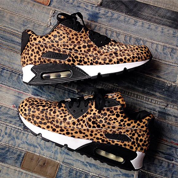 Nike Air Max 90 Cheetah Print Pony Hair