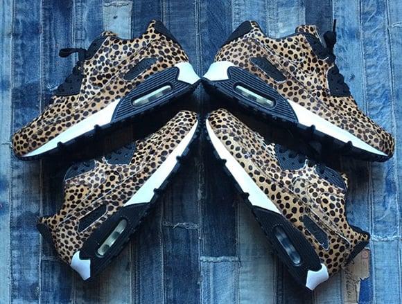 8e9c5030c52b Nike Air Max 90 Cheetah Print   Pony Hair