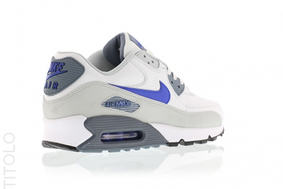 Nike Air Max 90 Summit White Lyon Blue Grey Mist