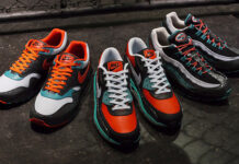 Nike Air Max 95, Lunar 90 and Lunar 1 Rhinoceros Beetle Pack