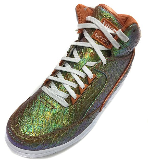 02d7ddaff0607 Nike Air Python Black Snake & Iridescent Snake 2015   SneakerFiles