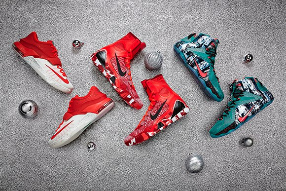 Nike Basketball Christmas 2014 Collection Unveiled