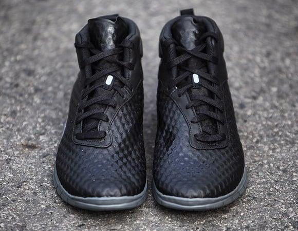 Nike Free Hypervenom Mid Black Grey