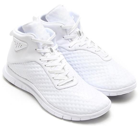 purchase cheap ae4a2 c08e5 Nike Free Hypervenom Mid White / Black | SneakerFiles