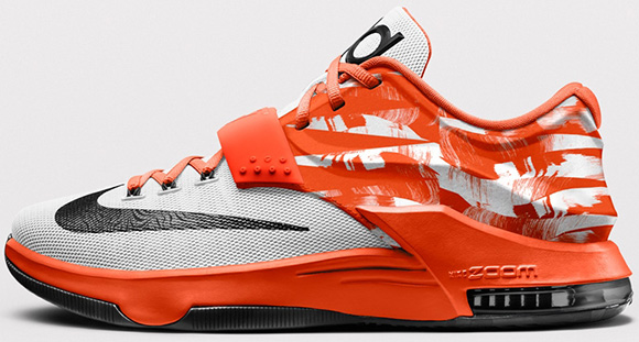 Nike KD 7 iD Wild West Option