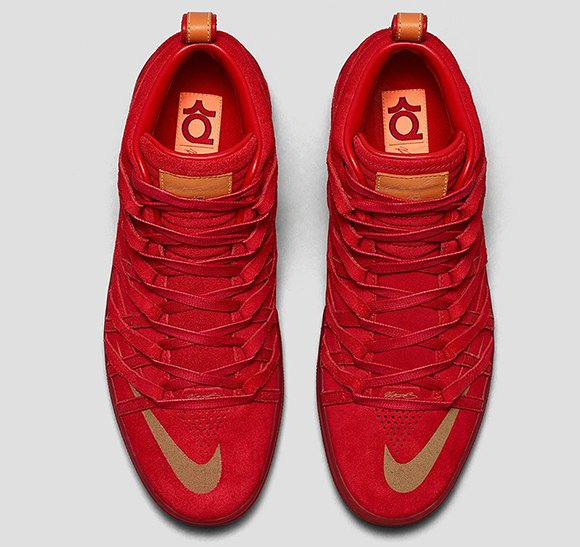 Nike KD 7 NSW Lifestyle Challenge Red Official Images