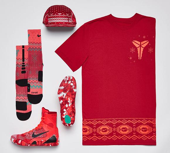 Christmas Basketball Socks