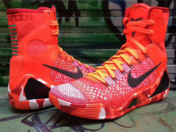 Nike Kobe 9 Elite Poker Ace is Actually Christmas