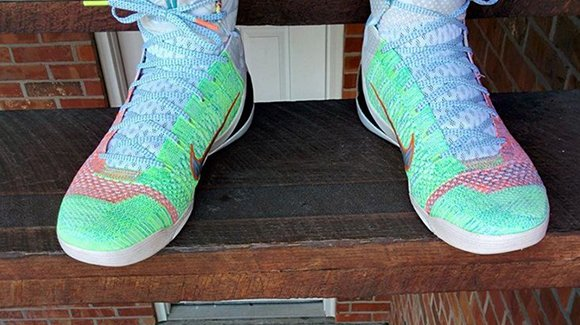 On Feet: Nike Kobe 9 Elite What the Kobe