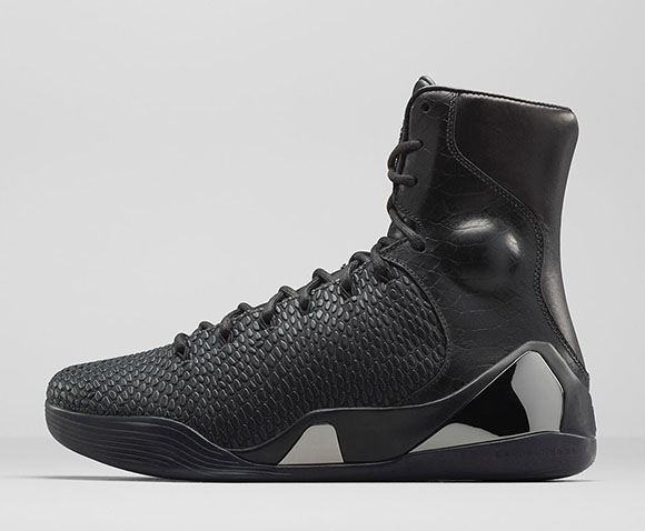 Nike Kobe 9 KRM EXT High Black Mamba Official Images