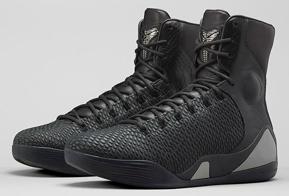 cheaper 66f59 b5198 Nike Kobe 9 KRM EXT High Black Mamba Official Images