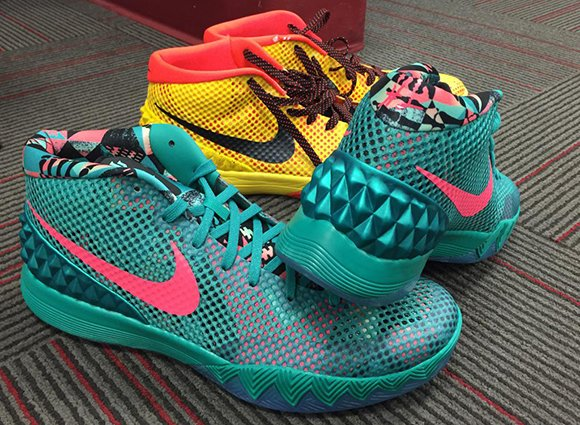 1c782133e9f8 Nike Kyrie 1  Christmas  Inspired by South Beach