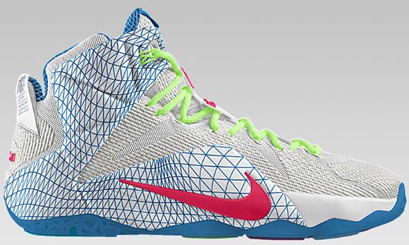 Nike LeBron 12 Data Option Now Available NikeiD