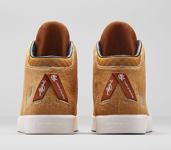Nike LeBron 12 NSW Lifestyle Lions Mane Official Images
