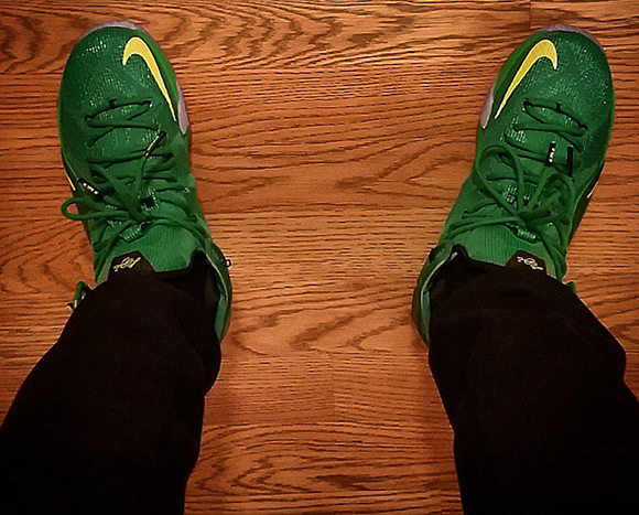 Nike LeBron 12 Oregon Ducks PE
