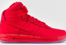 Nike Lunar Force 1 High University Red Ice