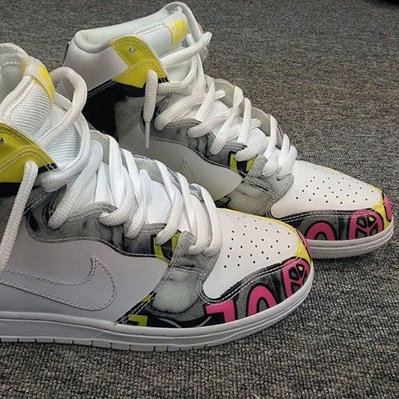 online store 4c0aa 3f879 Nike SB Dunk High 'De La Soul' - Detailed Look | SneakerFiles