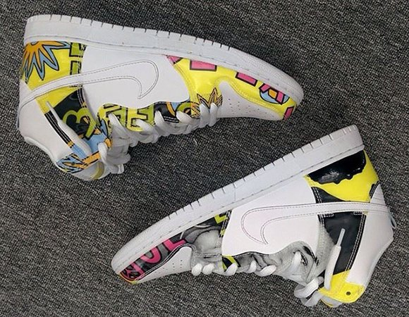 Nike SB Dunk High De La Soul Detailed Look