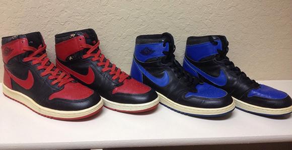 Original Air Jordan 1 Auction Collection